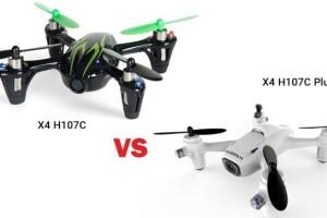 Отличия между Hubsan X4 H107С и X4 H107С Plus