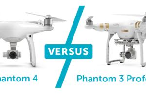Сравнение DJI Phantom 4 и Phantom 3 Pro