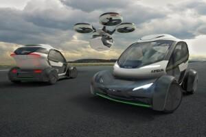 Новый концепт от Airbus, автомобиль и дрон в устройстве