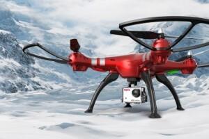 Обзор квадрокоптера с камерой Syma X8HG
