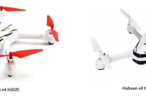 Отличия квадрокоптеров hubsan x4 h502E и hubsan x4 h502S