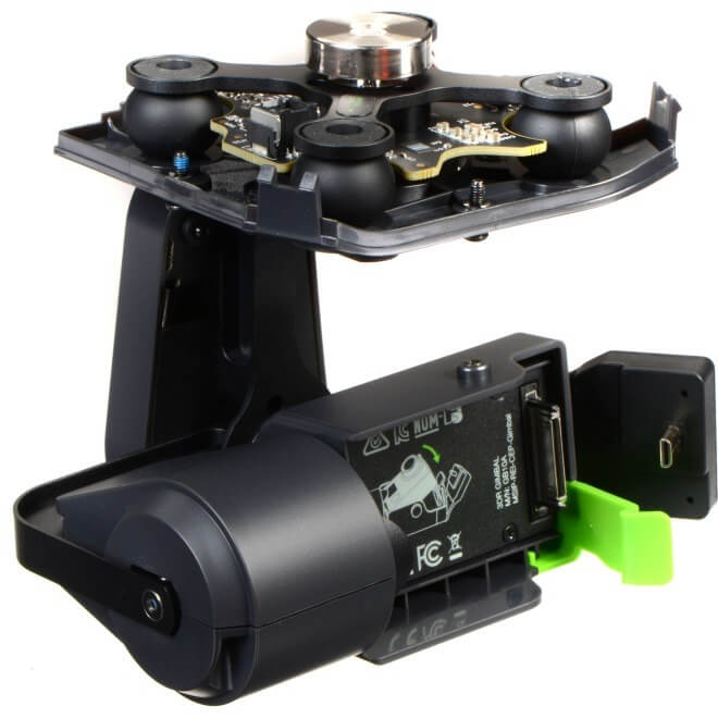 3d robotics gimbal for gopro