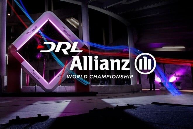Лига гонок на квадрокоптерах allianz-world-championship