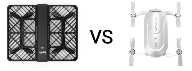 Какой селфи дрон лучше: Zerotech Dobby против Hover Camera Passport