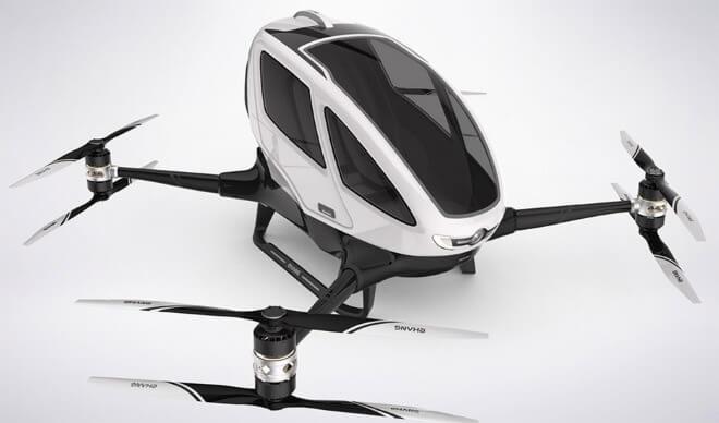 Ehang-184 пассажирский дрон