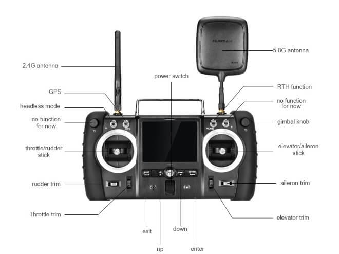 Передатчик X4 Hubsan H109S