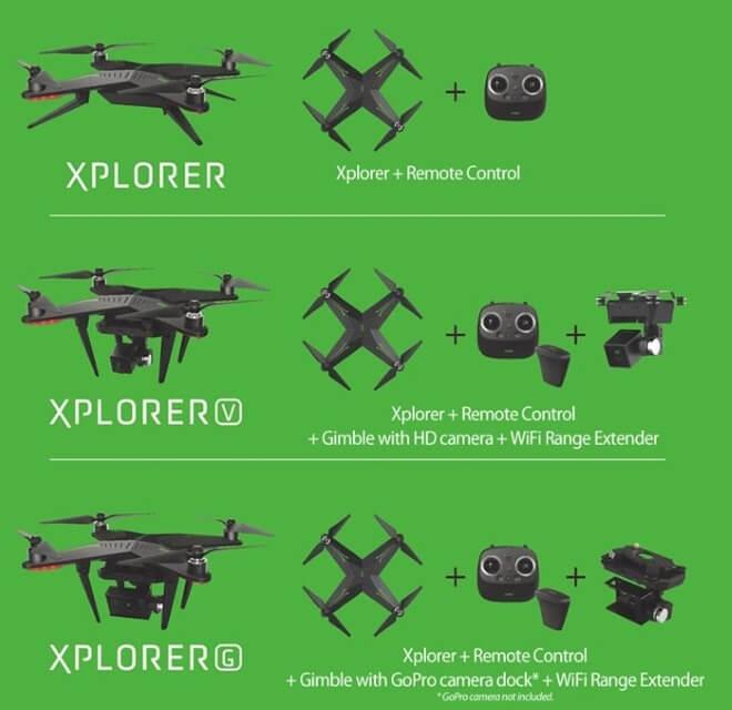 Комплектации XPlorer