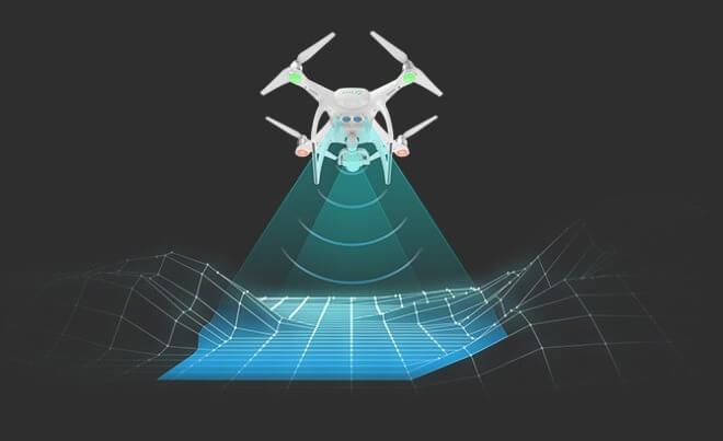 Оптические сенсоры DJI-Phantom-4