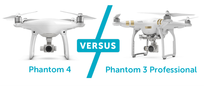Phantom 4 vs Phantom 3