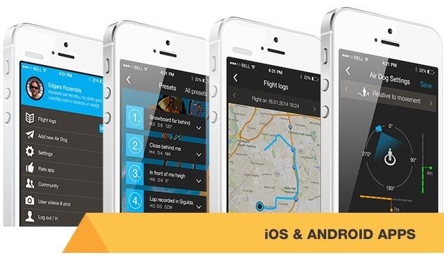 Приложение airdog app