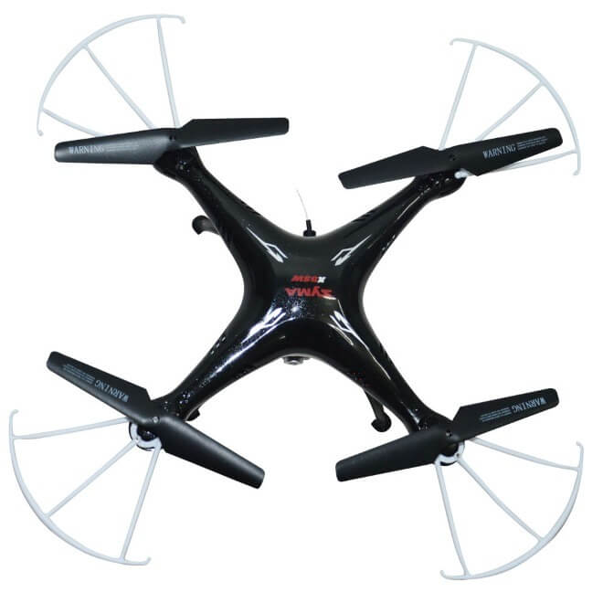 Квадрокоптер SYMA X5SW вид сверху