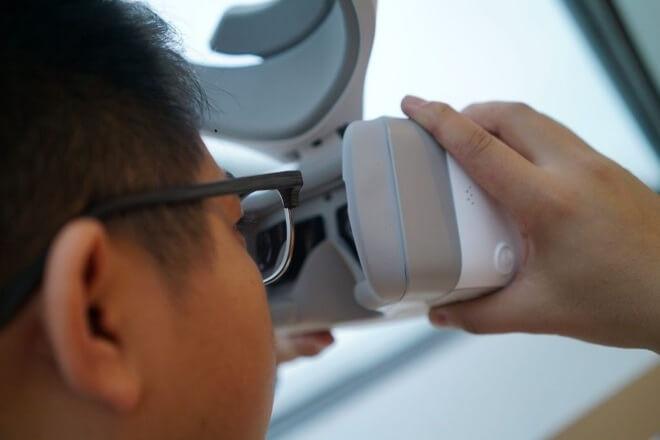 DJI-Goggles на очки