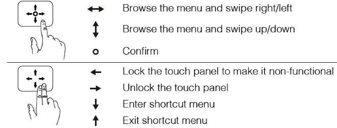 DJI Googles управление панелью