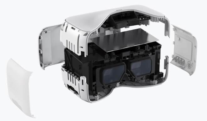 очки DJI Googles конструкция
