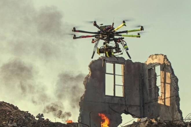 Съемка с дронов