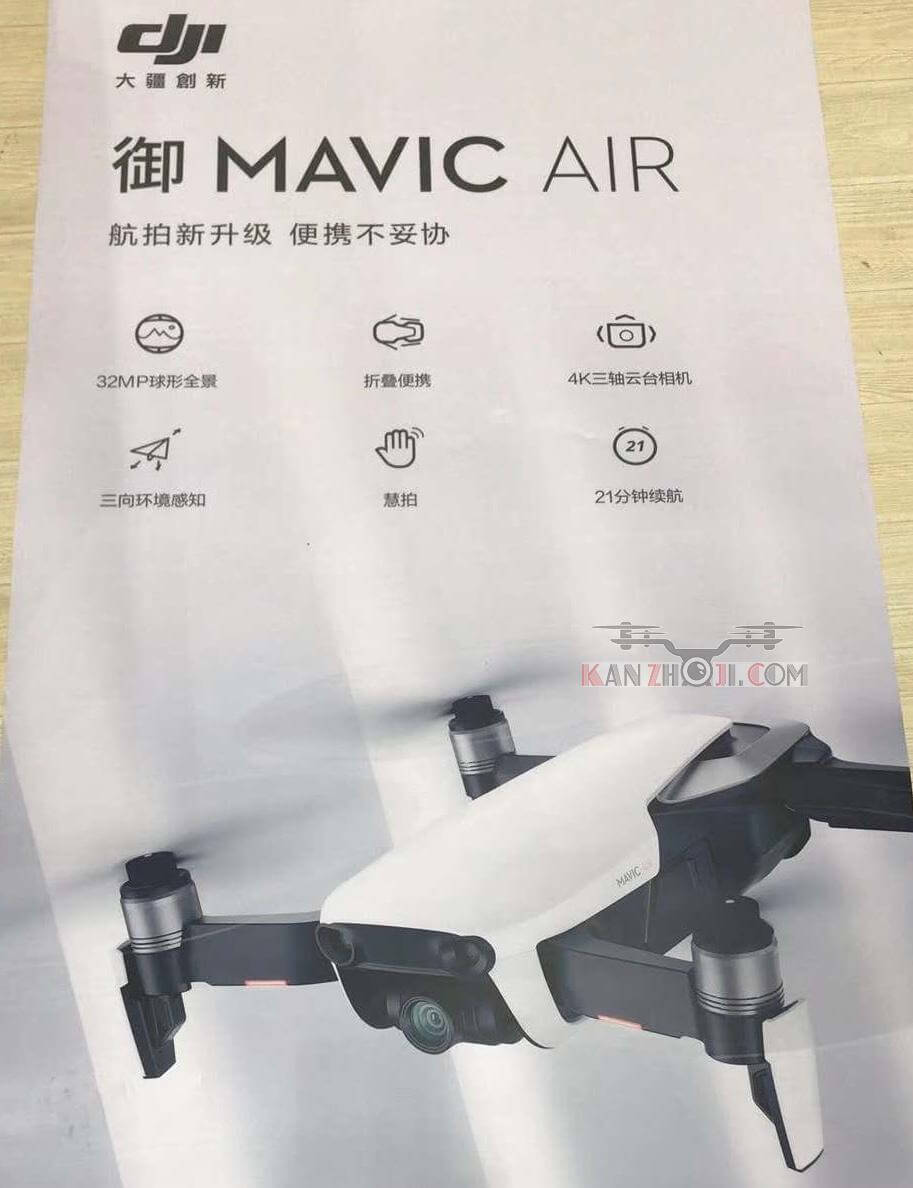 Specification Dji Mavic AIR