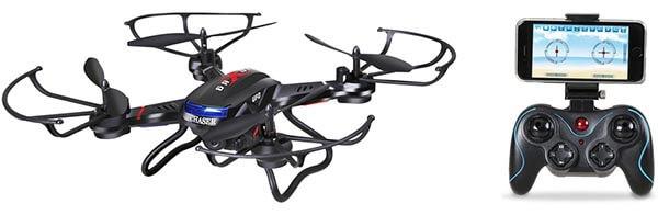 Квадрокоптер с большой емкостью аккумулятора чертеж самодельных очков виртуальной реальности