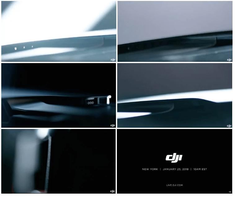 Первые снимки и слухи о DJI Mavic Air
