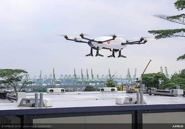 Дрон Skyways компании Airbus - будущее доставки посылок