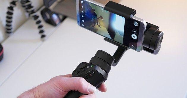 DJI Osmo Mobile - волшебный стабилизатор смартфона