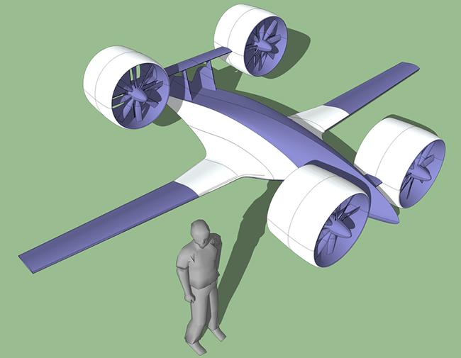 Грузовой беспилотник Draco-2 компании Sabrewing Aircraft