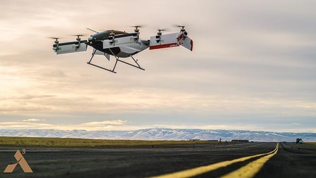 Аэро-такси Vahana от Airbus совершило первый полет