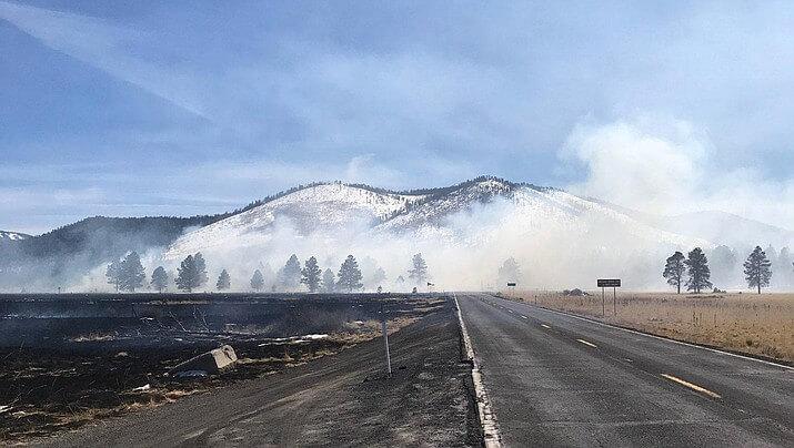Пожар на 130 гектарах заповедника по вине дрона?