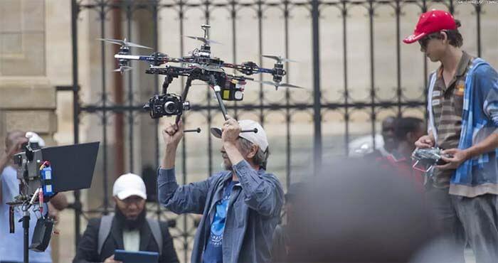 В телевизионной компании FOX для съемок привлекают 90 пилотов дронов