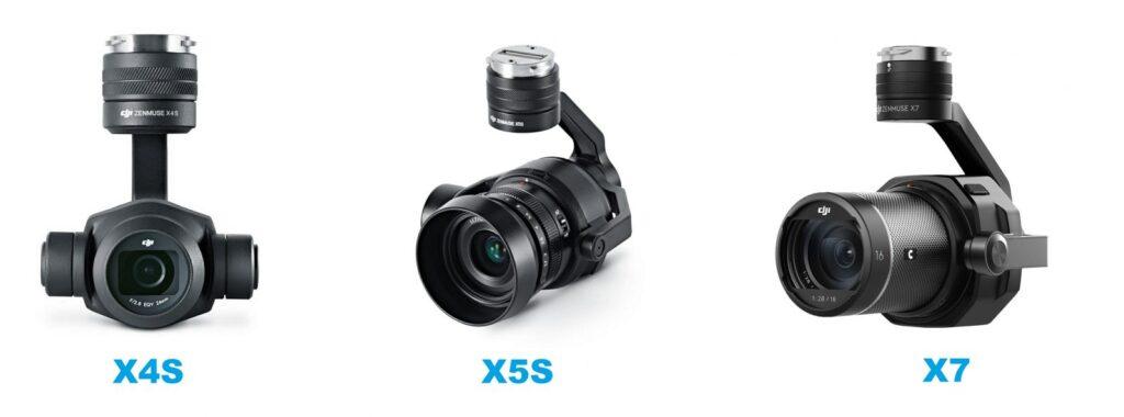 Камеры x4s x5s x7 для DJI Inspire 2