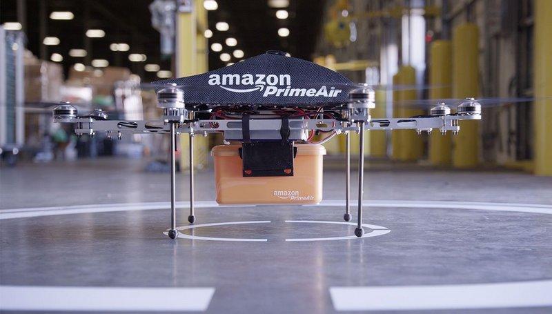 Коммерческое использование дронов