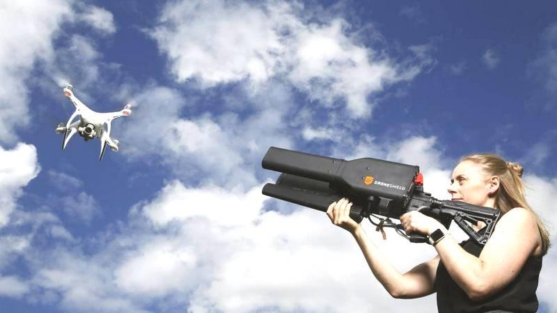 Борьба с дронами