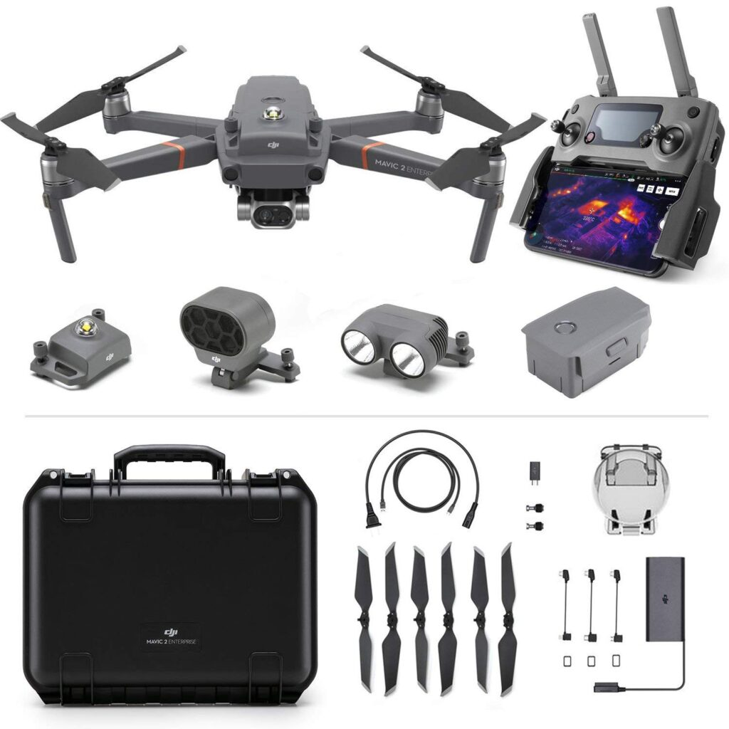 Комплектация дрона DJI Mavic 2 Enterprise Dual