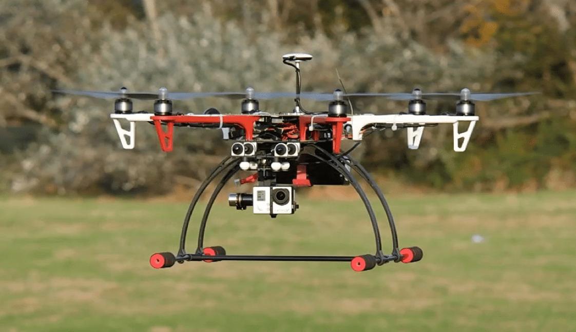 DJI F550 с камерой